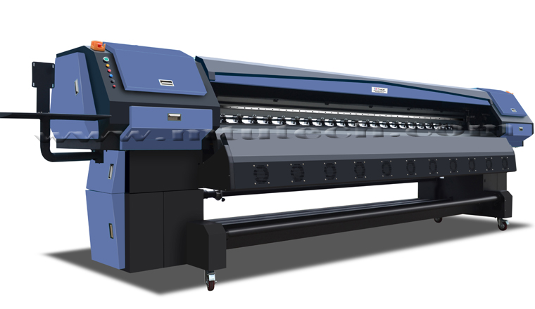 Super Heavy Duty Konica Solvent Printer MT-KN3308C