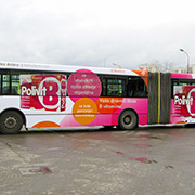 Bus Advertising Wrapping, Eco Solvent Printer Printing Sample!MT Digital Industry - Eco Solvent Printer, Solvent Printer, UV Printer, Digital Textile Printer Manufacturer & Supplier!