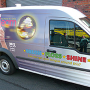 Van Vinyl Wrapping Advertising, Eco Solvent Printer Printing Sample!MT Digital Industry - Eco Solvent Printer, Solvent Printer, UV Printer, Digital Textile Printer Manufacturer & Supplier!