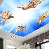 Soft Film Ceiling Decoration, Roll To Roll UV Printer Printing Sample!MT Digital Industry - Eco Solvent Printer, Solvent Printer, UV Printer, Digital Textile Printer Manufacturer & Supplier!