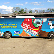 Full Bus Advertising Wrapping, Eco Solvent Printer Printing Sample!MT Digital Industry - Eco Solvent Printer, Solvent Printer, UV Printer, Digital Textile Printer Manufacturer & Supplier!