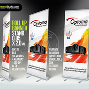 Roll Up Banner Stand, Eco Solvent Printer Printing Sample!MT Digital Industry - Eco Solvent Printer, Solvent Printer, UV Printer, Digital Textile Printer Manufacturer & Supplier!