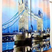 Shower Curtain Textile Printer & Bath Curtain Digital Textile Printer Printing Sample!MT Digital Industry - Digital Textile Printer, UV Printer, Eco Solvent Printer and Solvent Printer Manufacturer & Supplier!
