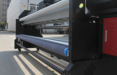 Roll to Roll LED UV Printer
