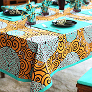 Tablecloth Textile Printer & Table Cover Digital Textile Printer Printing Sample!MT Digital Industry - Digital Textile Printer, UV Printer, Eco Solvent Printer and Solvent Printer Manufacturer & Supplier!