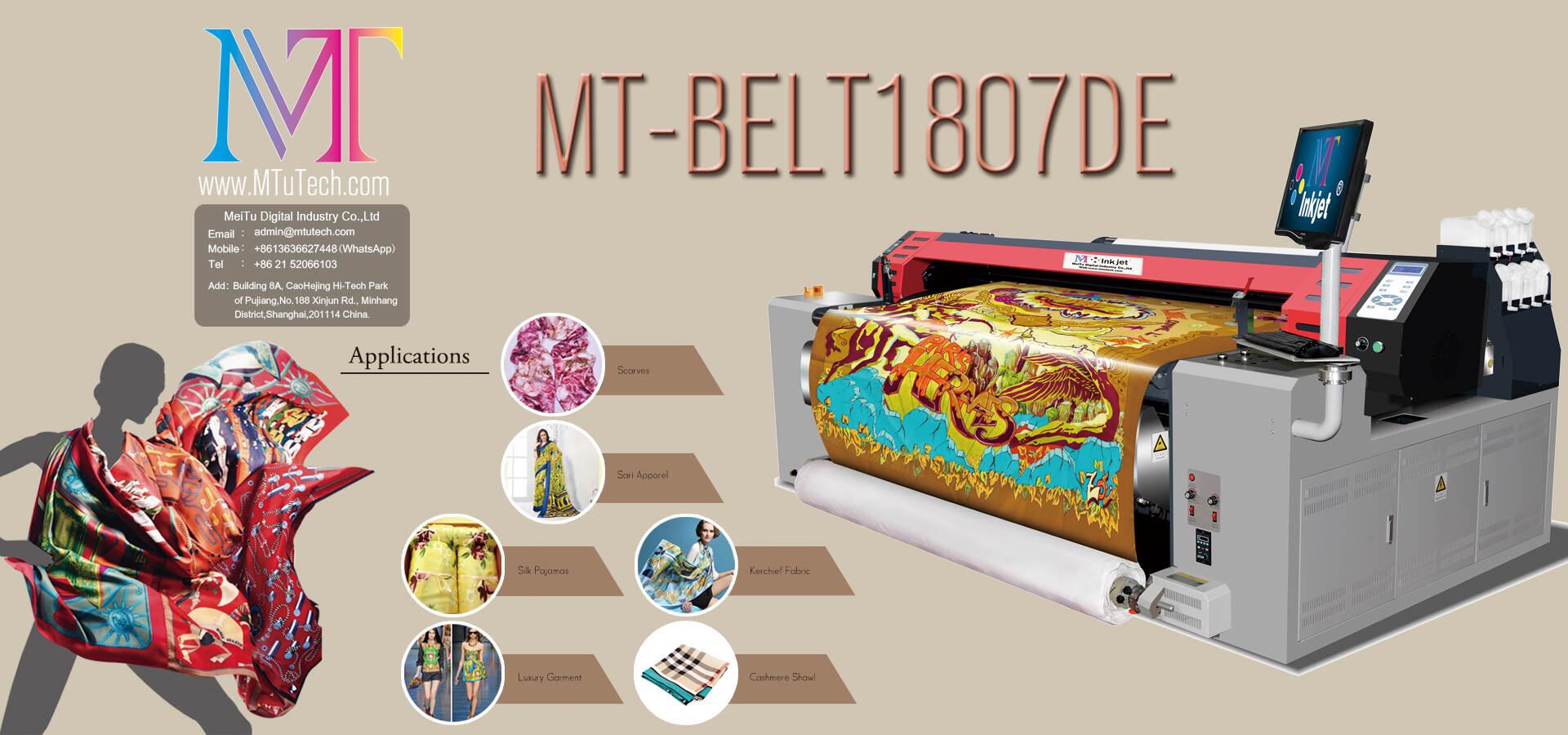 Digital Textile Natural Fiber Printer Supplier - MTuTech com