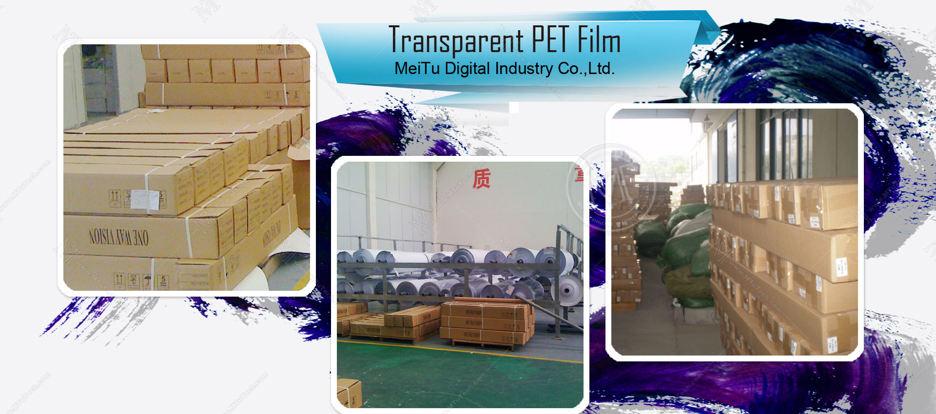 Transparent PET Film