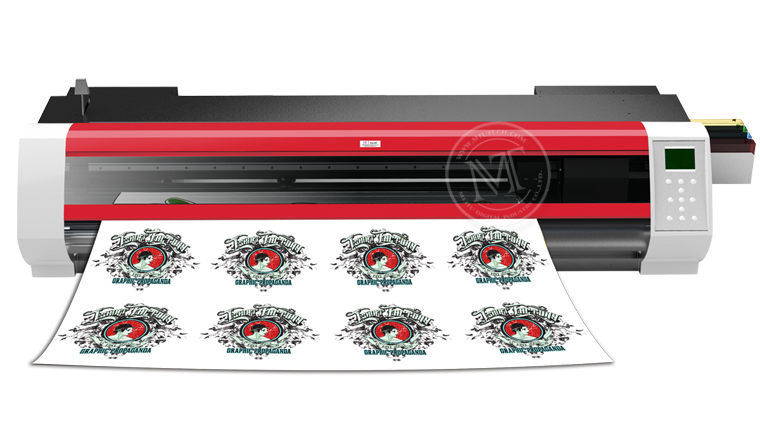 Digital Textile Sublimation Paper Printer & Cutter MT-PC500