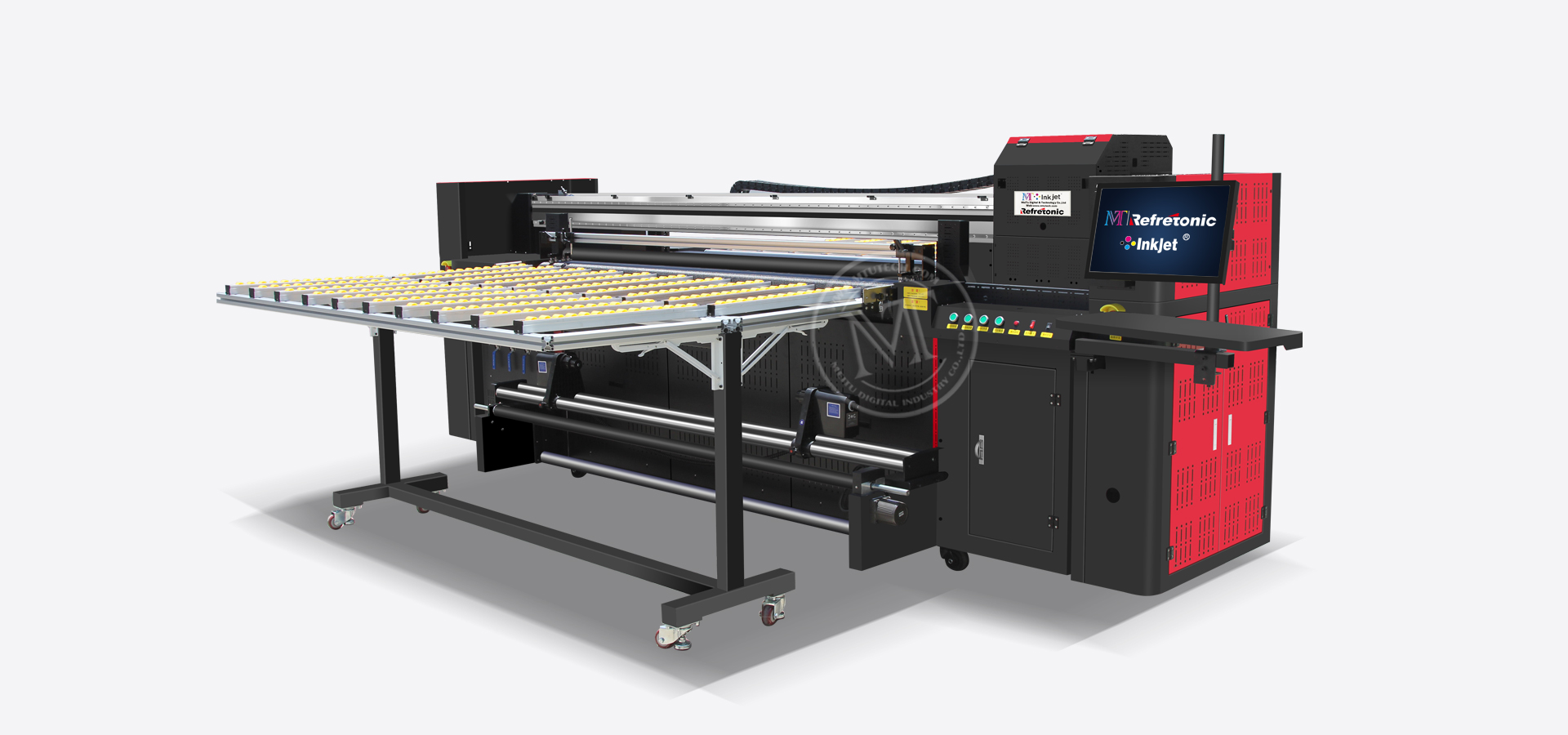 Hybrid UV Printer MT-UV2000HE (Roll to Roll & Flatbed)