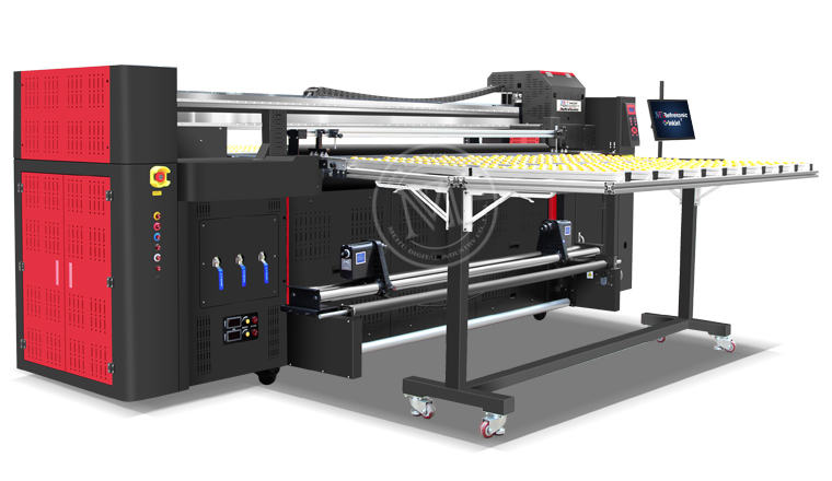 Hybrid UV Printer MT-UV2000HR (Roll to Roll & Flatbed)
