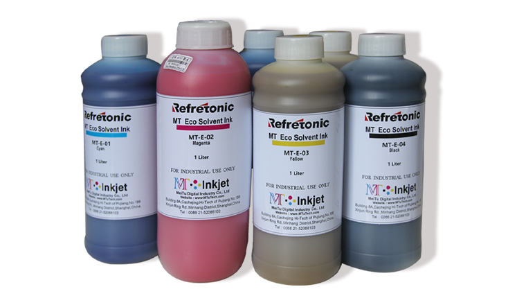 Ricoh Printhead Eco Solvent Inks