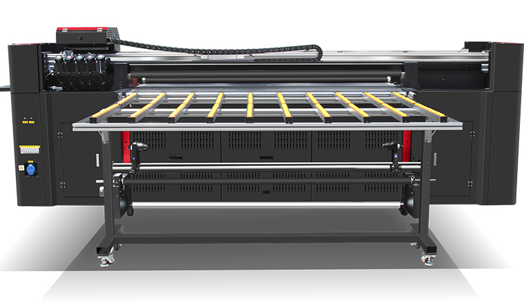 Hybrid UV Printer MT-UV2000HX (Roll To Roll & Flatbed)