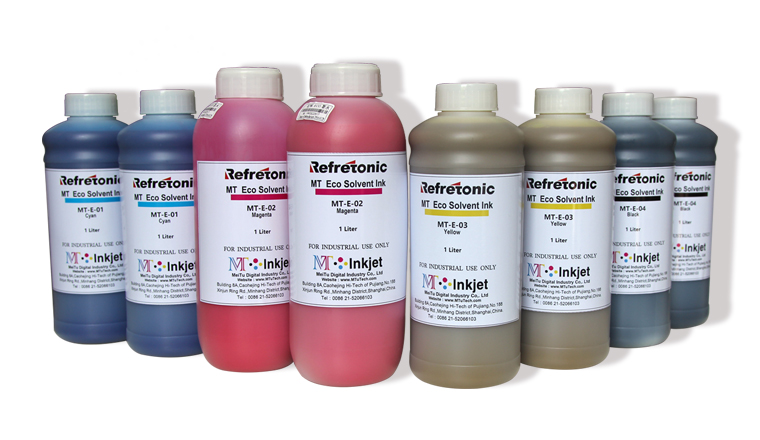 DX5 Printhead Eco Solvent Inks