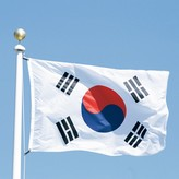 New-3x5-Feet-Large-South-Korea-Flag-Polyester-the-Korean-National-Banner-Home-Decor