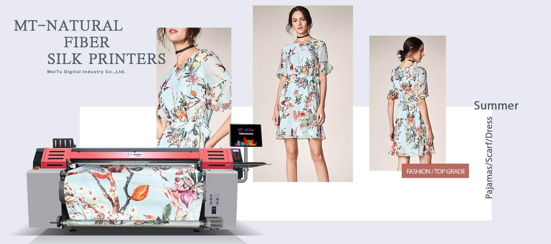 Natural Fiber Digital Textile Printers | Silk Printer