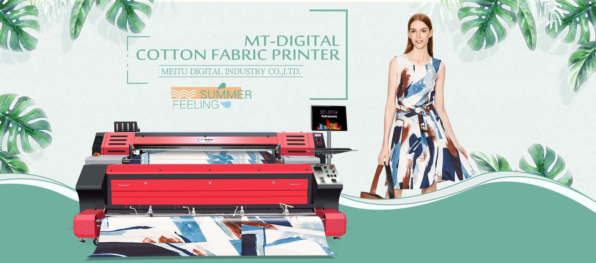 Cotton Fabric Printers   Digital Textile Cotton Printers