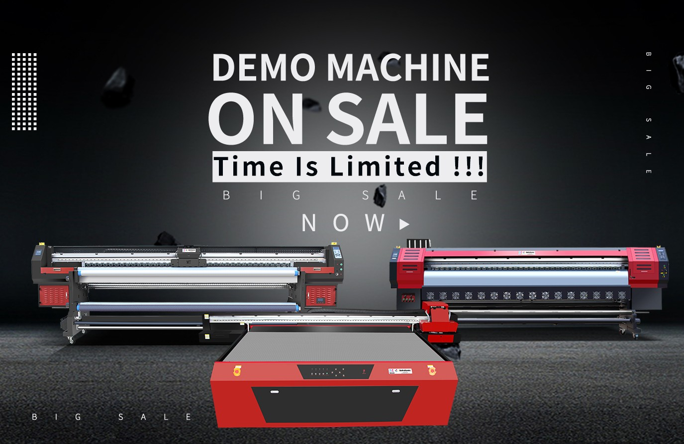 Demo Machine On Sale !!